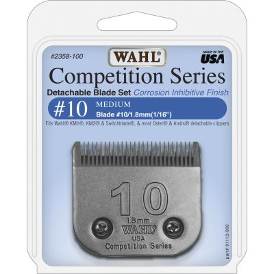 Wahl #10 Blade Set 1.8mm