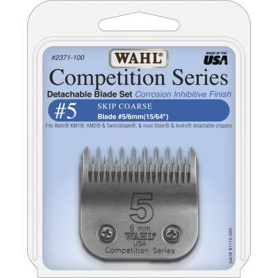 Wahl #5 Skip Blade Set 6mm