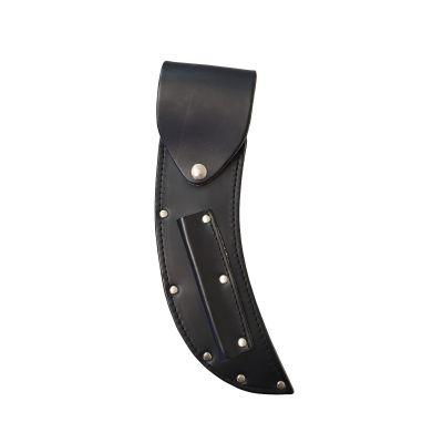 Large Leather Knife Sheath with Flap