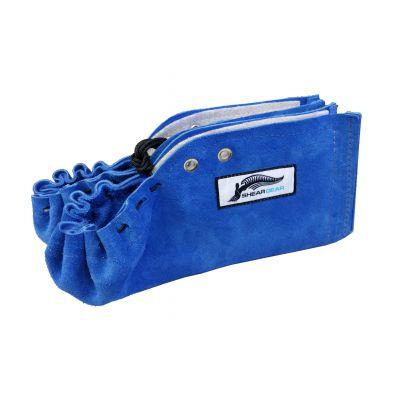 Sheargear Lined Leathermoc Blue