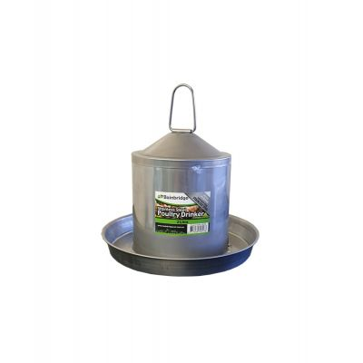 2lt Stainless Steel Poultry Drinker
