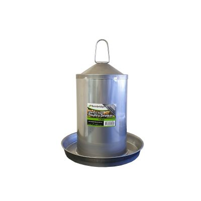 3lt Stainless Steel Poultry Drinker