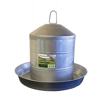 9lt Stainless Steel Poultry Drinker