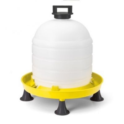 Supreme Poultry Drinker with Top Fill Lid and Handle - 15L