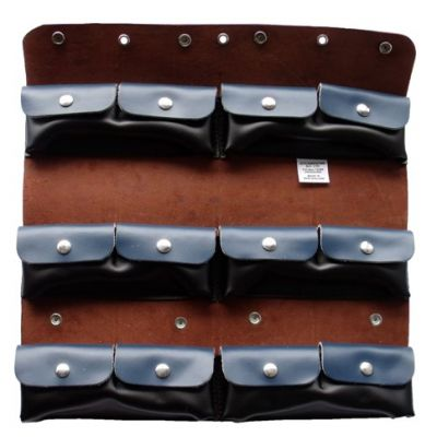12pkt MEGA Leather Comb Holder
