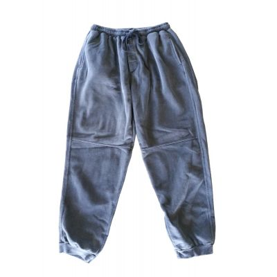 Natural Authentic Pigment Dyed Trackpants - Navy