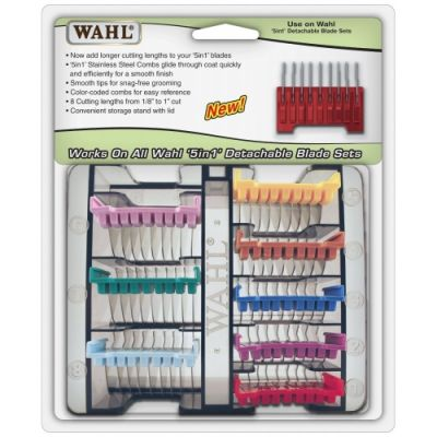 Wahl 5-in-1 Comb Attachment Set